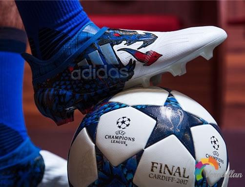 阿迪达斯全新限量UCL Dragon足球鞋套装发布