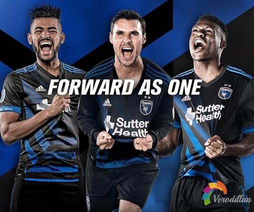 阿迪达斯发布圣何塞地震2017赛季主场球衣