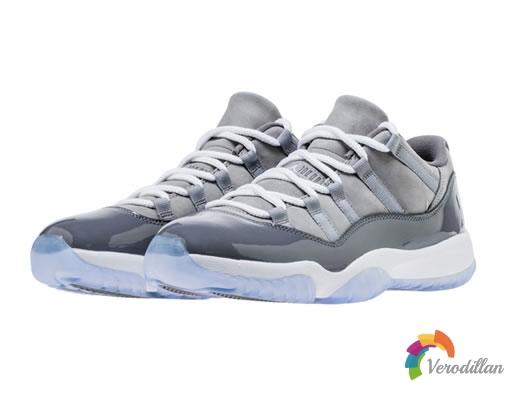奢华细腻质感:Air Jordan 11 Cool Grey迎来发售
