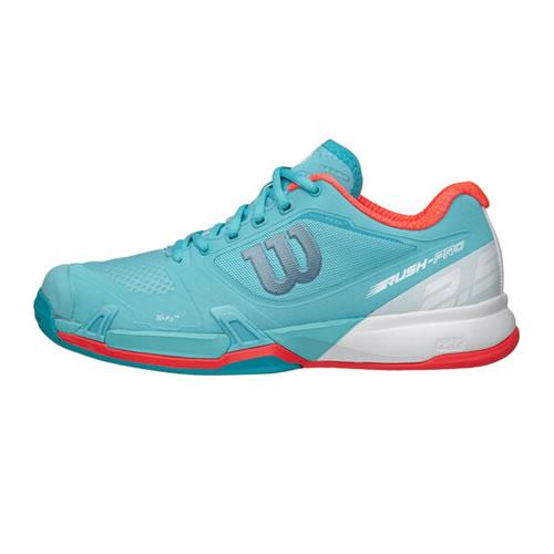 威尔胜WRS323700 RUSH PRO 2.5女子网球鞋