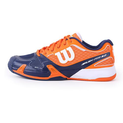 威尔胜WRS320900 RUSH PRO 2.0男子网球鞋