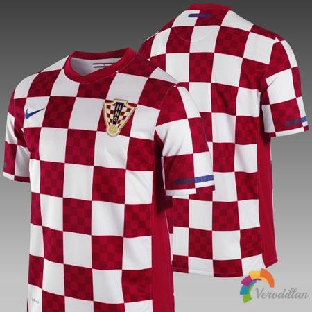 克罗地亚国家队官方公布2010/11赛季主客场球衣