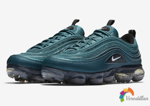 沁凉即视感:Nike Air VaporMax 97 Metallic Dark Sea