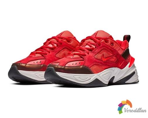 [球鞋近赏]Nike M2K Tekno Red Suede配色