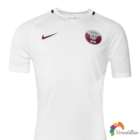 卡塔尔国家队携手耐克发布2017主客场球衣
