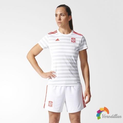 女斗牛士:西班牙女足2017/18赛季主客场球衣