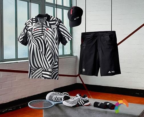 adidas Tennis携手Y-3打造联名系列Roland Garros 2016