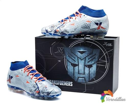 [球鞋近赏]特步发布刀锋二代变形金刚联名限量版AG足球鞋