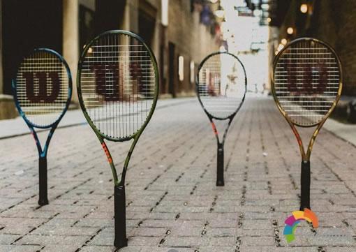 Wilson Camo迷彩系列网球装备,灵感源自繁华都市