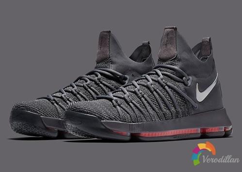 低调内敛:Nike KD 9 elite设计细节简评