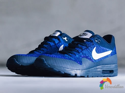 Nike Air Max 1 Ultra Flyknit Dark Obsidian设计曝光