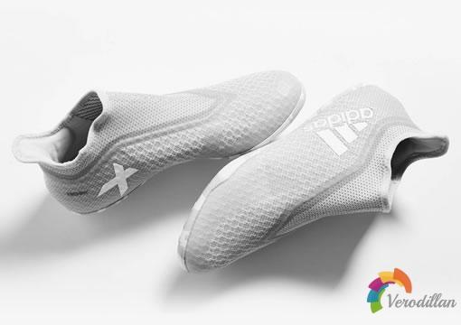 无鞋带设计:阿迪达斯X Tango17+ Purespeed IN