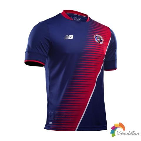 哥斯达黎加国家队2017金杯赛第二客场球衣发布