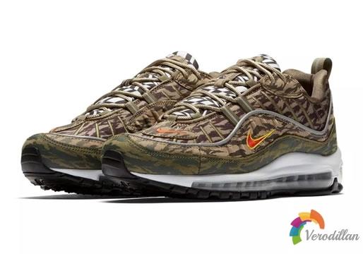 Nike Air Max 98全新AOP系列细节曝光
