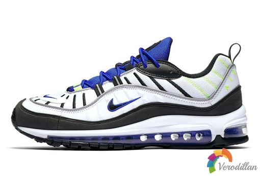 沁凉入夏:Nike Air Max 98全新配色Sprite