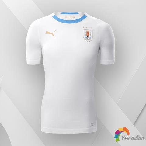 驰骋球场:乌拉圭国家队2018世界杯客场球衣