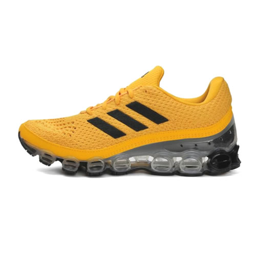 阿迪达斯EH0787 Microbounce男女跑步鞋