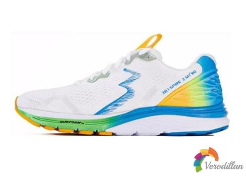 [网友上脚测评]361度全新M1RO系列SPIRE 3跑鞋