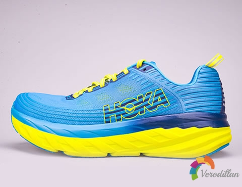 HOKA ONE ONE Bondi 6缓冲跑鞋测评及优缺点