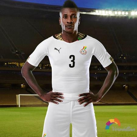 黑星之师:加纳国家队2014世界杯主客场球衣