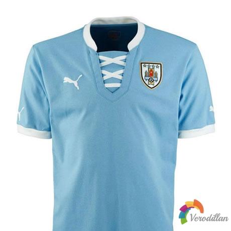 乌拉圭国家队2013联合会杯主场球衣设计曝光