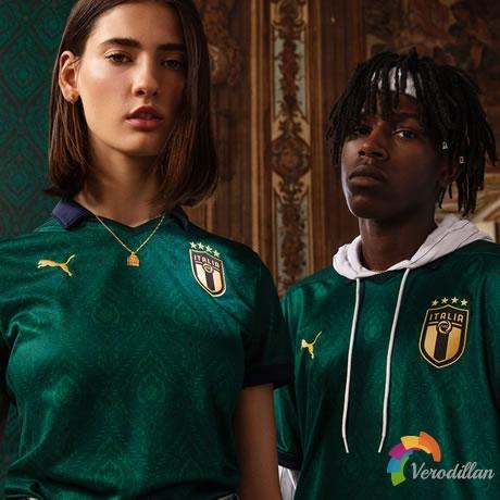缔造新传奇:意大利国家队2019/20赛季第二客场球衣