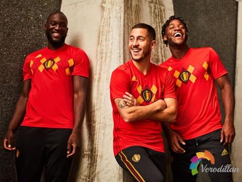 欧洲红魔:比利时国家队2018世界杯主场球衣发布