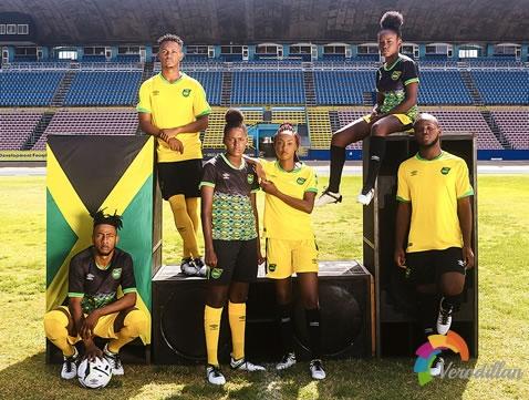 雷鬼男孩:牙买加国家队发布2018/19赛季主客场球衣图1