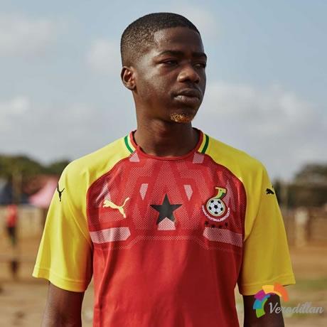 加纳国家队2018主场球衣设计曝光