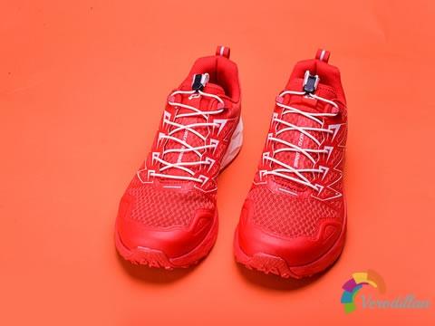 国产大红Pao:探路者Flight 1越野跑鞋开箱