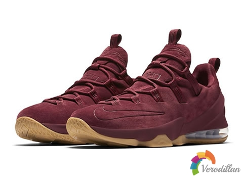 [细节鉴赏]Nike LeBron 13 Low Team Red配色