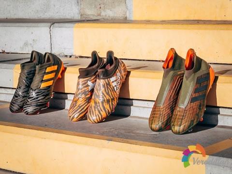 阿迪达斯全新Lone Hunter足球鞋套装闪亮登场