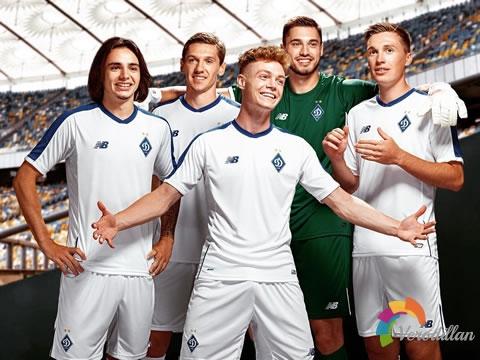 New Balance发布基辅迪纳摩2018/19赛季主客场球衣