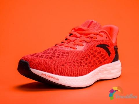安踏A-FLASHFOAM跑鞋,主打日常慢跑以及长距离训练