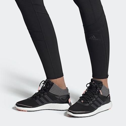 阿迪达斯FV3099 RocketBOOST Mid GUARD w女子跑步鞋图5高清图片