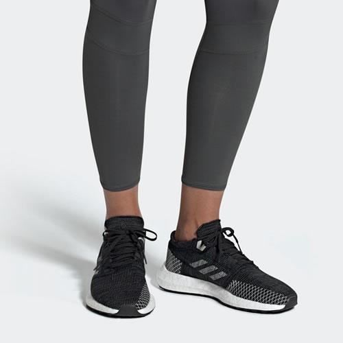 阿迪达斯B75822 PureBOOST GO W女子跑步鞋图5高清图片
