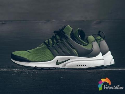 [细节近赏]Nike Air Presto Essential Legion Green配色