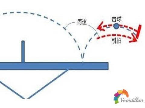 实战解读乒乓球主动发力与同速引拍的关系