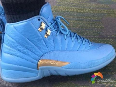 整体气质抢眼:Air Jordan 12 University Blue配色曝光