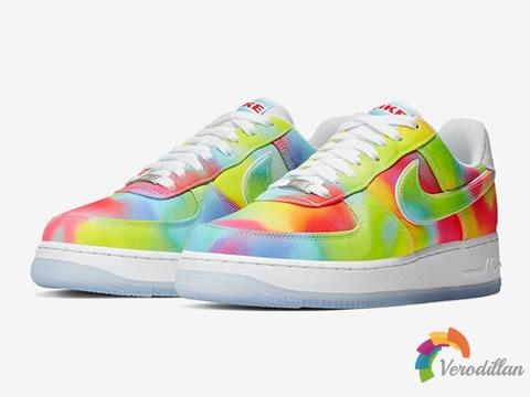 Nike公布全扎染配色Air Force 1