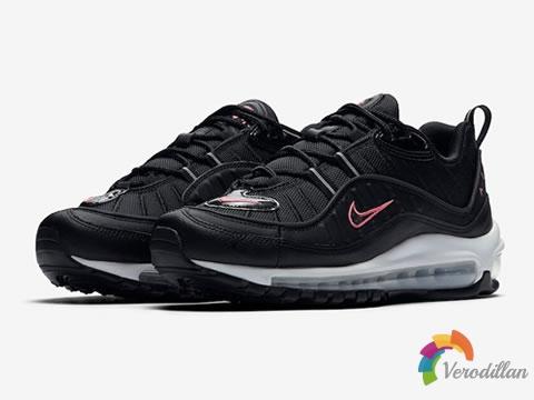黑暗骑士:Nike全新Air Max 98抢滩登陆