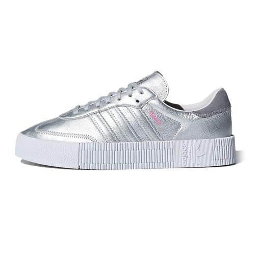 阿迪达斯D96769 SAMBAROSE W女子运动鞋