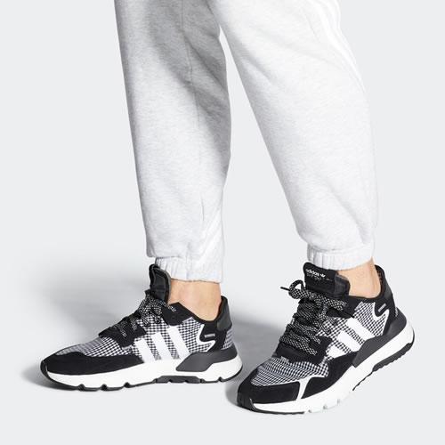 阿迪达斯FV3854 NITE JOGGER男女运动鞋图5高清图片