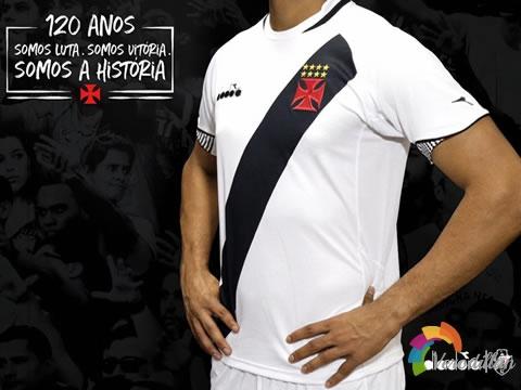 迪亚多纳发布瓦斯科达伽马2018赛季主客场球衣