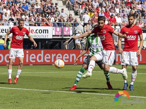 荷兰阿尔克马尔发布2018/19赛季主场球衣