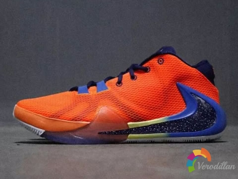 NBA常规赛新科MVP战靴:Nike Zoom Freak 1新配色