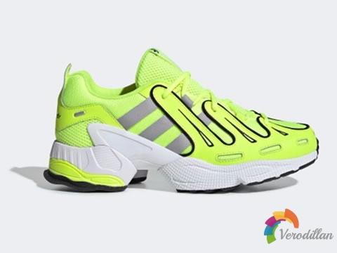 极具复古气息:adidas EQT Gazelle荧光绿配色