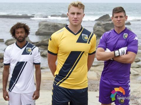 中央海岸水手官方发布2015赛季亚冠联赛球衣