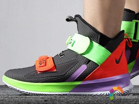 Nike LeBron Soldier 13巴斯光年配色登场