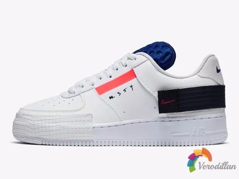 Nike Air Force 1 Type新款设计曝光